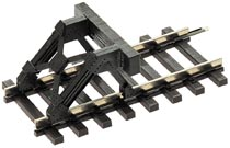 Tillig 82440 - Buffer stop, clip-fitting, without track (kit)