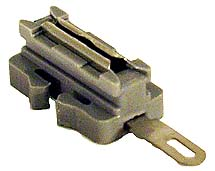 Tillig 83951 - Rail joiner w/connecting lug quick connect receptacle