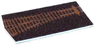 Tillig 86514 - Dark brown Track bedding for straight points, EW2,15°.left branch(85322)