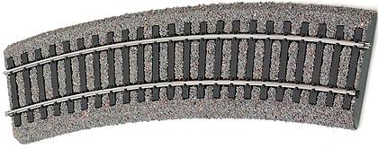 Tillig 86554 - Light grey bedding curved track R31