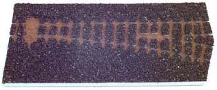 Tillig 86721 - Hom-track bedding-Straight points EW 18deg. right branch, dark