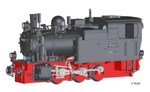 Tillig 92600 - German BR 99 Narrow Gauge Steam Locomotive w. Sound