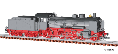Tillig 92653 - DIGITAL VERSION – Steam Locomotive Class 38.10