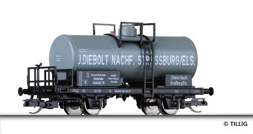 """Tillig 95828 - Tank Car J. Diebolt Nachf."""""""