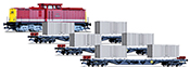 German Freight Train Starter Set of the DR