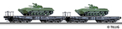 Flat Car Set of the CSD