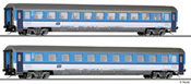 2pc Passenger Coach Set of the CD