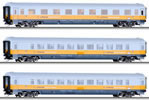 3pc Passenger Coach Set Airport Express 2 of the DB