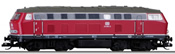 German Diesel Locomotive Class 219 001-5 of the DB