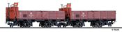 Tillig 05970 Open Goods Freight Car Set