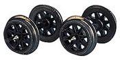 Spoked wheel set (10pcs)
