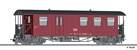 Baggage Car KBD of the HSB