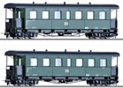 2pc Passenger Car Set of the DR