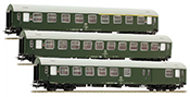 3pc Passenger Coach Set