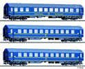 3pc Passenger Coach Set type Y Tourex