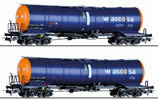 2pc Freight car set of WASCOSA AG