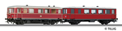 Railbus class VT 70.9 with trailer car VB 140