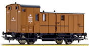 German Baggage Car of the K.Sachs.St.EB