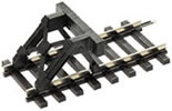 Buffer stop, clip-fitting, without track (kit)
