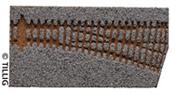 Light grey bedding straight points EW2, 15°. right branch (85321)