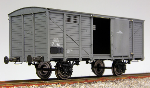 Tololoko IS1041 - Box Car of the KKStB