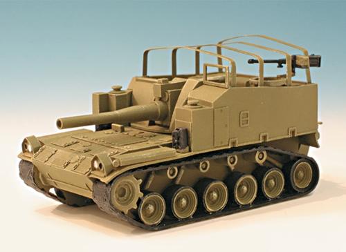 Trident 87028 - Howitzer M-44 w/155mm Cnn
