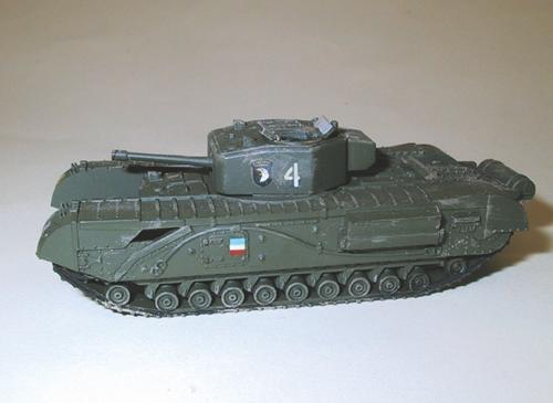 Trident 87061 - British Tank MkIV Chrchll