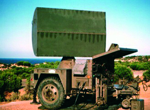 Trident 87077 - AN/MPQ-55 CW-Acqstn Radar
