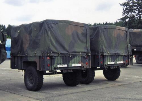 Trident 87089 - M1101 Hi-Mblty 3/4T Trlr