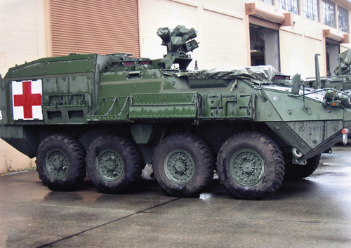 Trident 87091 - M1133 MEV Stryker AMB