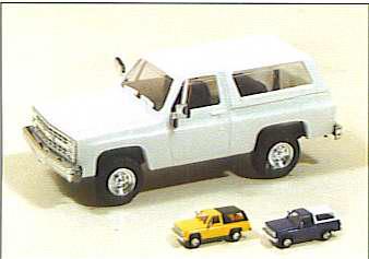 Trident 900013 - Chevy Blazer Ylw/Blk Top