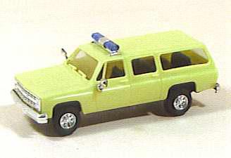 Trident 90018 - Chevy Suburban Fire Truck