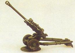 Trident 90029 - L119 Light gun 105mm GB