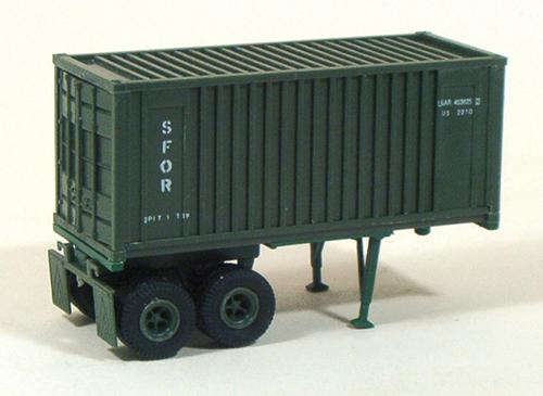 Trident 90079 - US-Army semitrailr Milvan