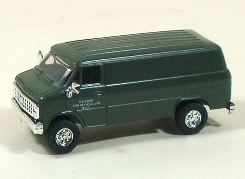 Trident 90083 - US Army Chevy Cargo Van