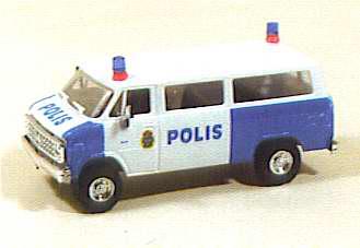 Trident 90120 - Police personnel van