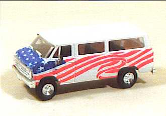 Trident 90242 - Sportvan w/American flag