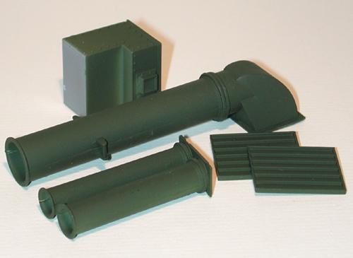 Trident 96017 - M1 Abrams Snorkel cnvrsn