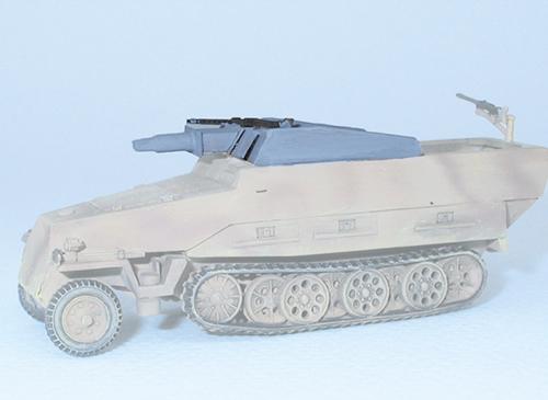 Trident 96025 - Conv. SdKfz 251/9
