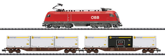 Trix 11133 - Starter Set Modern freight