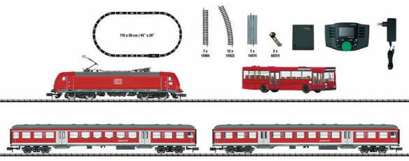 Trix 11140 - German Regional Express Digital Starter Set of the DB AG