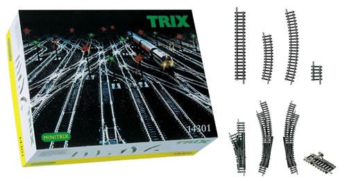 Trix 14301 - TRIX LARGE TRACK EXTENSION SET 02