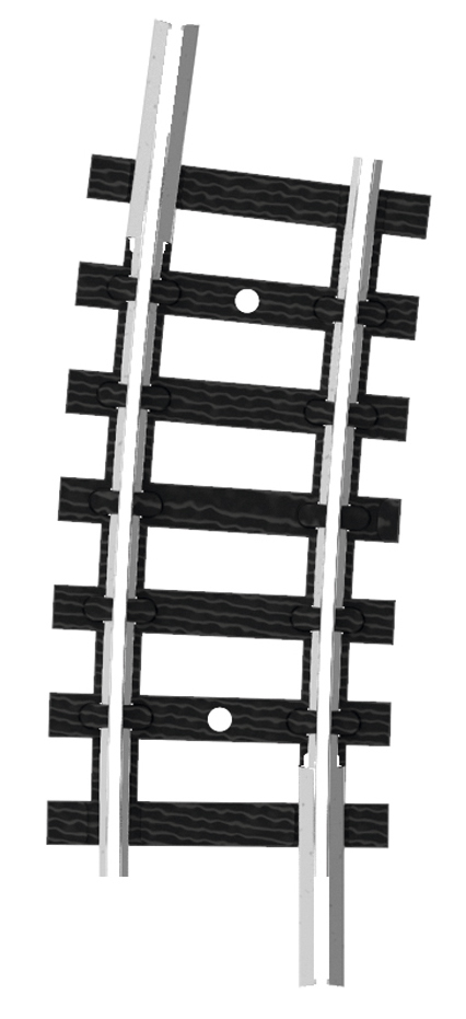 Trix 14919 - C Track R2a 261,8 mm , 7,5 GR