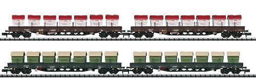Trix 15071 - 4-Cars Set w. 7 Dumpsters each