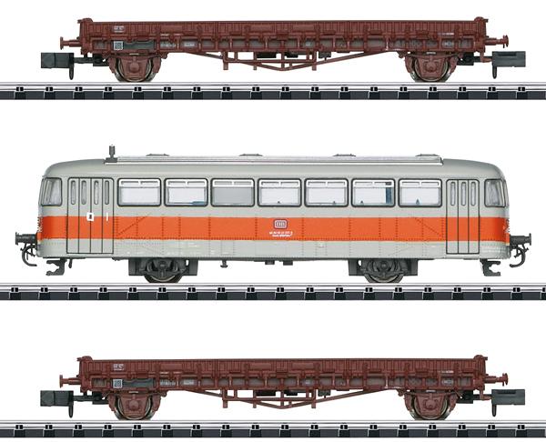 Trix 15091 - German DB Era IV Line Inspection Car Set