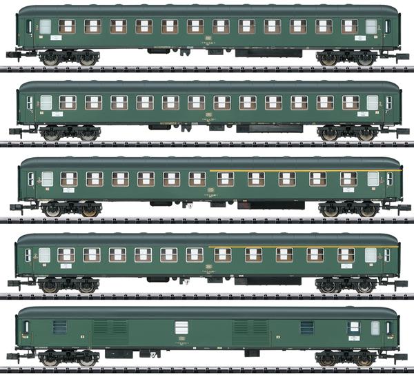 Trix 15219 - 5pc D 360 Express Train Passenger Car Set