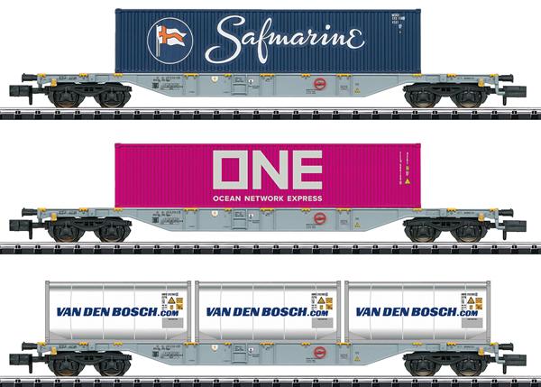 Trix 15228 - Dutch Container Car-Set