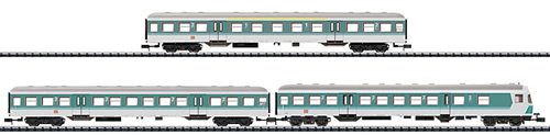 Trix 15392 - German 3pc Car Set Regional Express of the DB AG