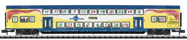 Trix 15396 - Metronom 2nd Class Bi-Level Passenger Car