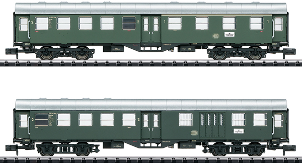 Trix 15409 - German Rebuilt Commuter Car Set of the DB